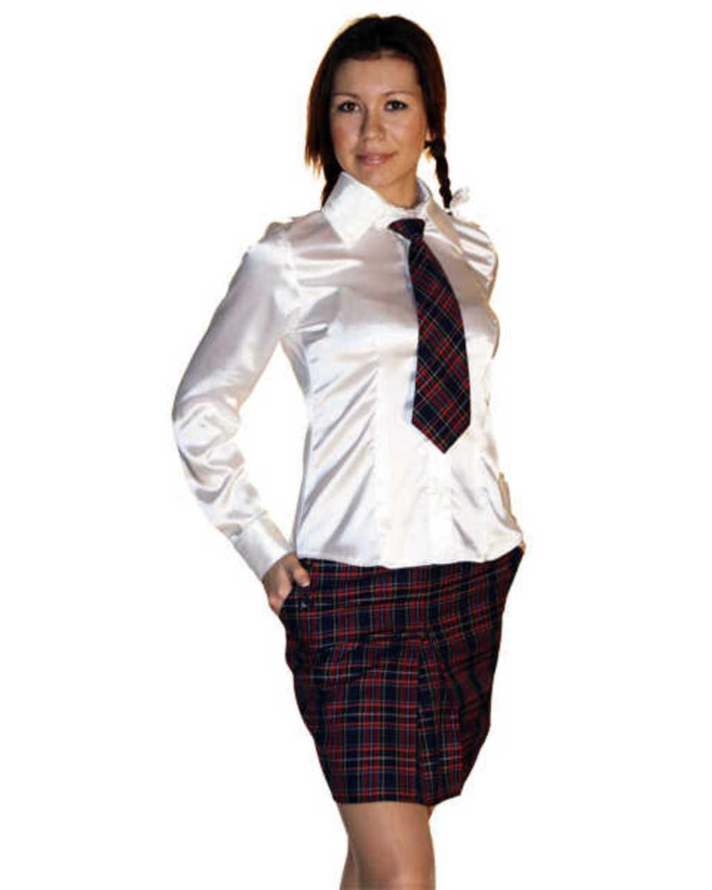 Модные Школьные Блузки Старшеклассниц